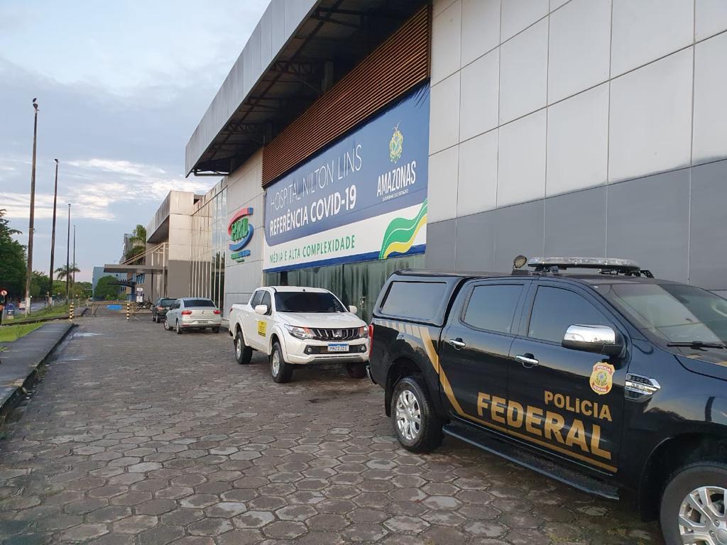 Polícia Federal do Amazonas investiga governador Wilson Lima (02-06-2021)