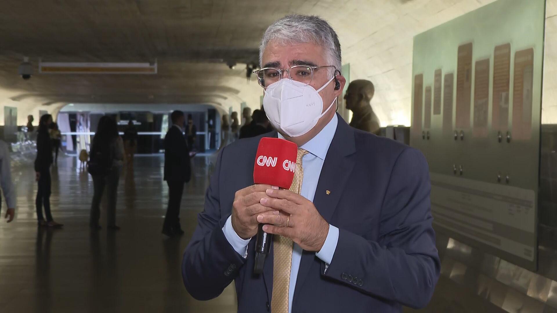 Senador Eduardo Girão (Podemos-CE), integrante da CPI da Pandemia