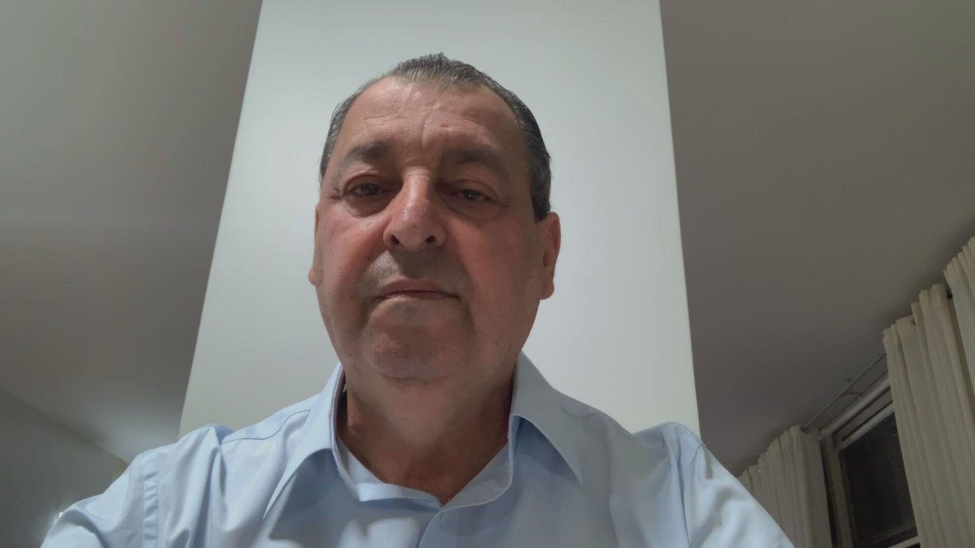 O presidente da CPI da Pandemia, o senador Omar Aziz, em entrevista à CNN