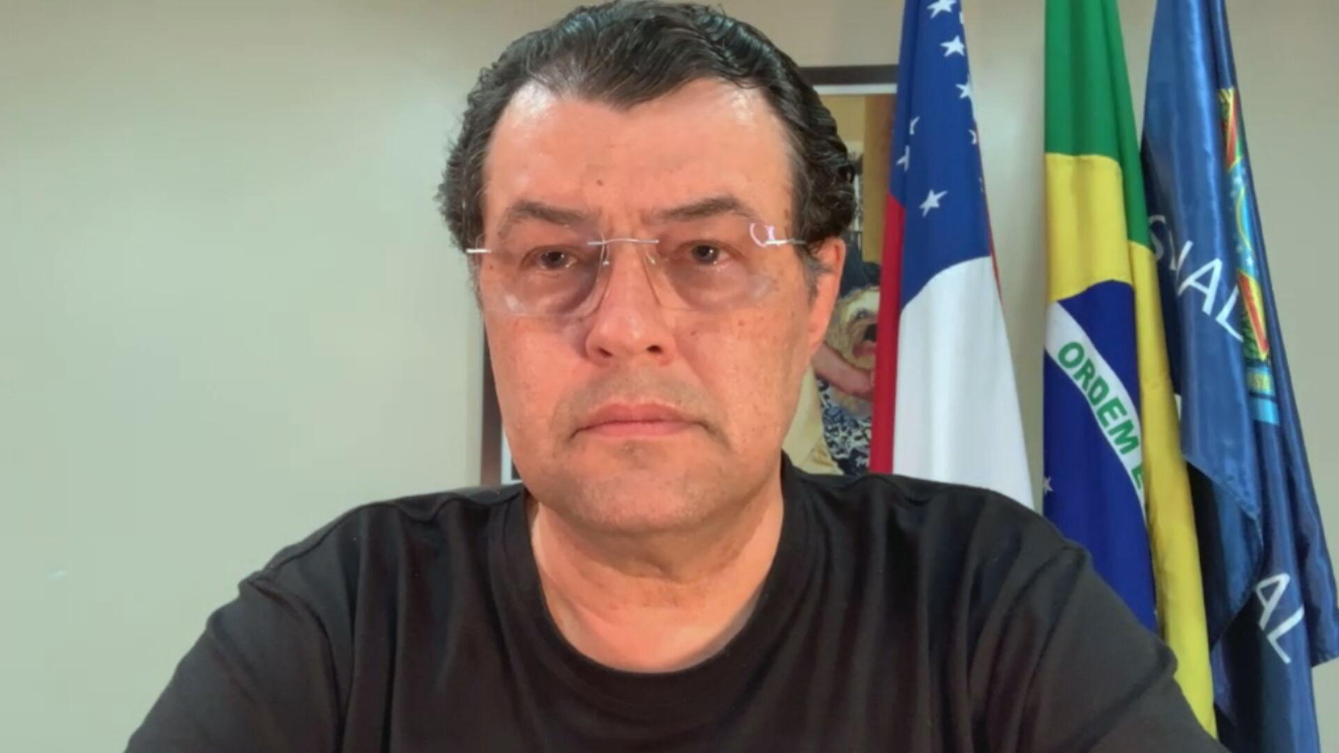 O senador Eduardo Braga (MDB-AM) conversou com a CNN sobre a CPI da Pandemia