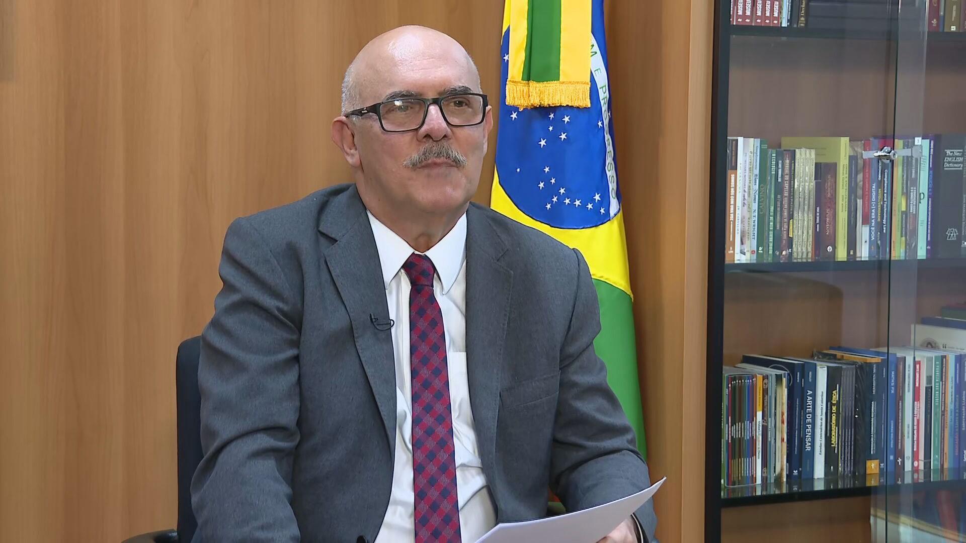 Ministro da Educação, Milton Ribeiro, em entrevista à CNN (03-06-2021)