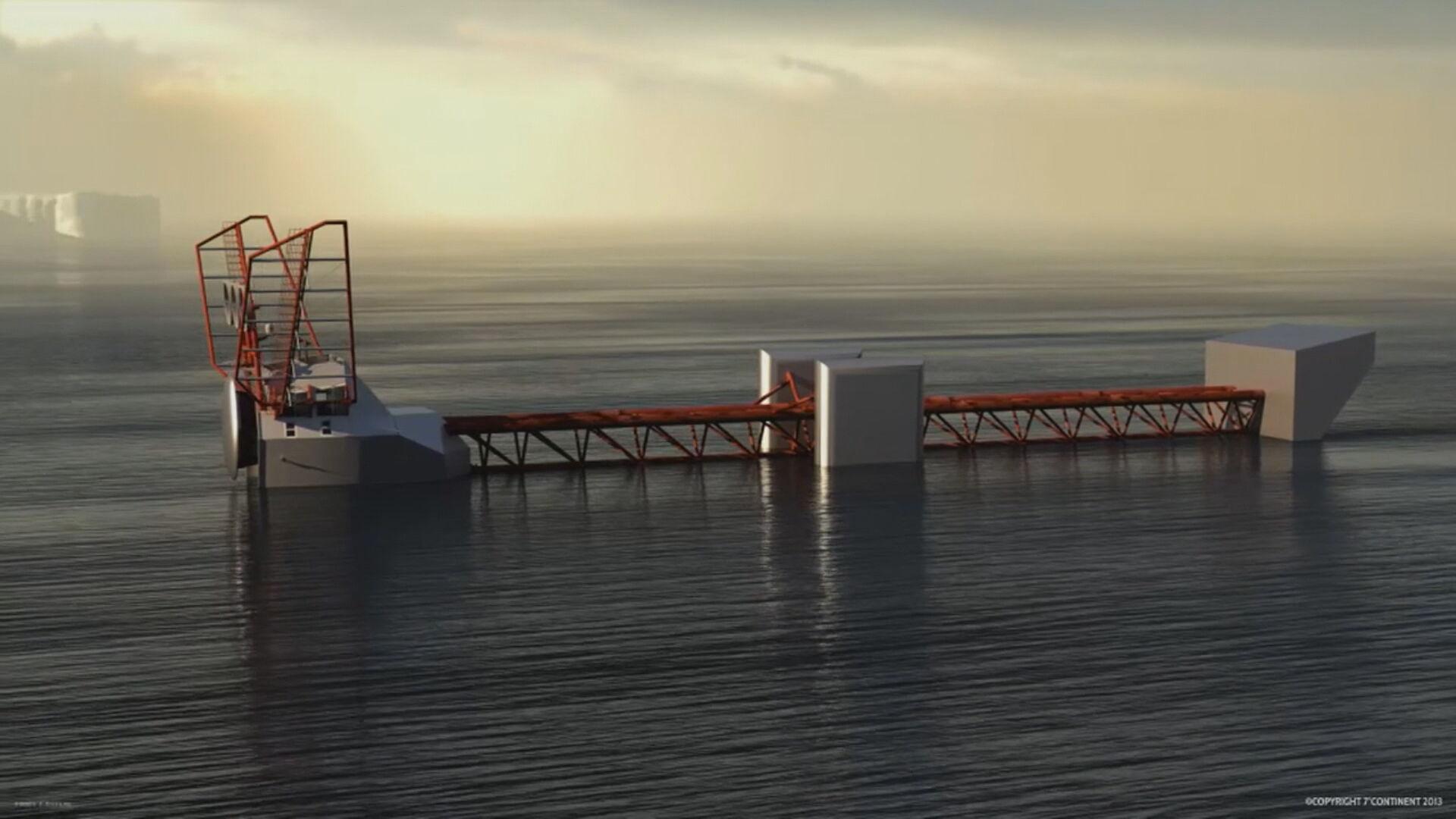 Laboratório flutuante para estudo dos oceanos (05 de junho de 2021)