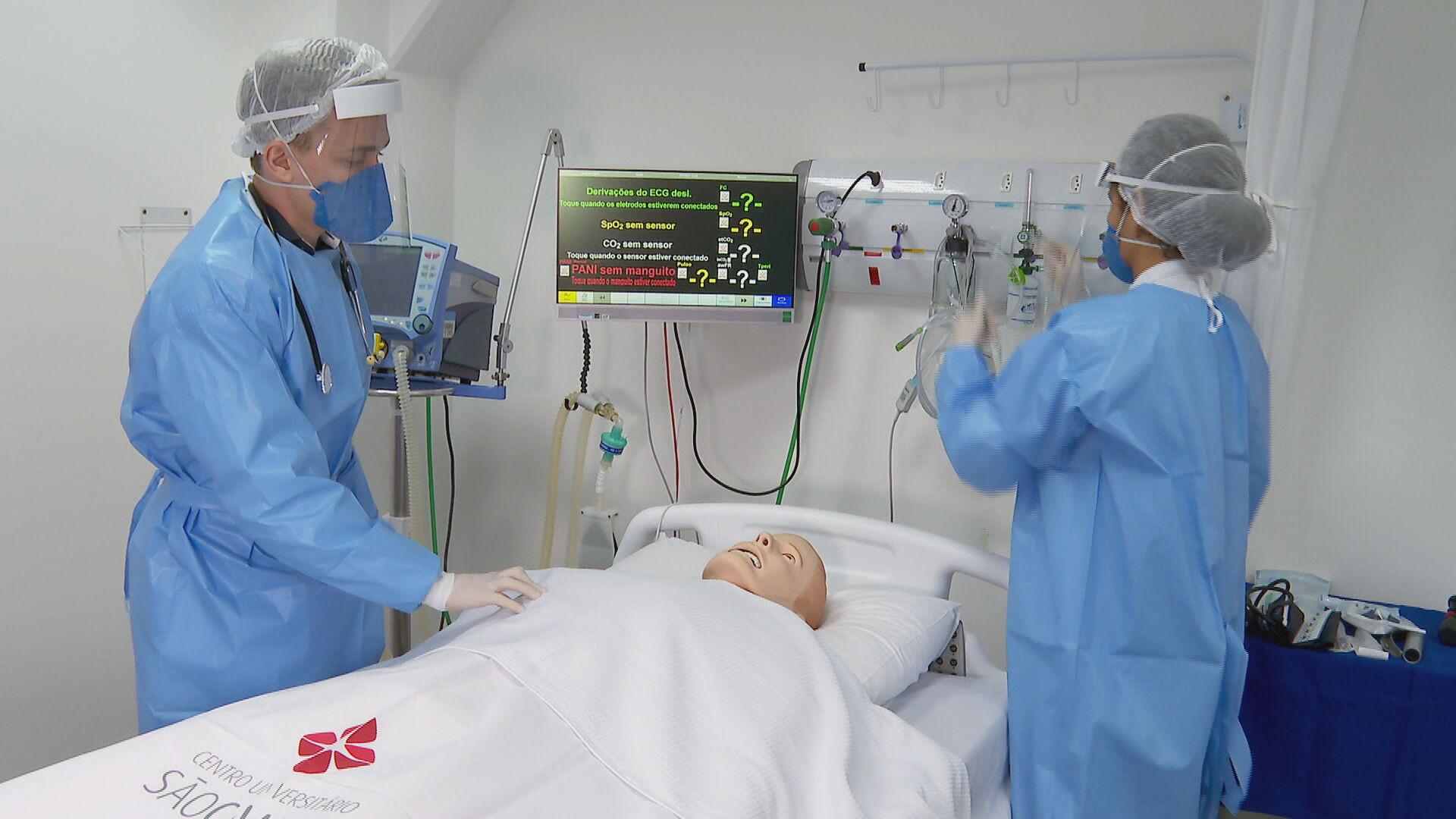 Procura por graduações na área da saúde aumenta durante a pandemia (05.jun.2021)