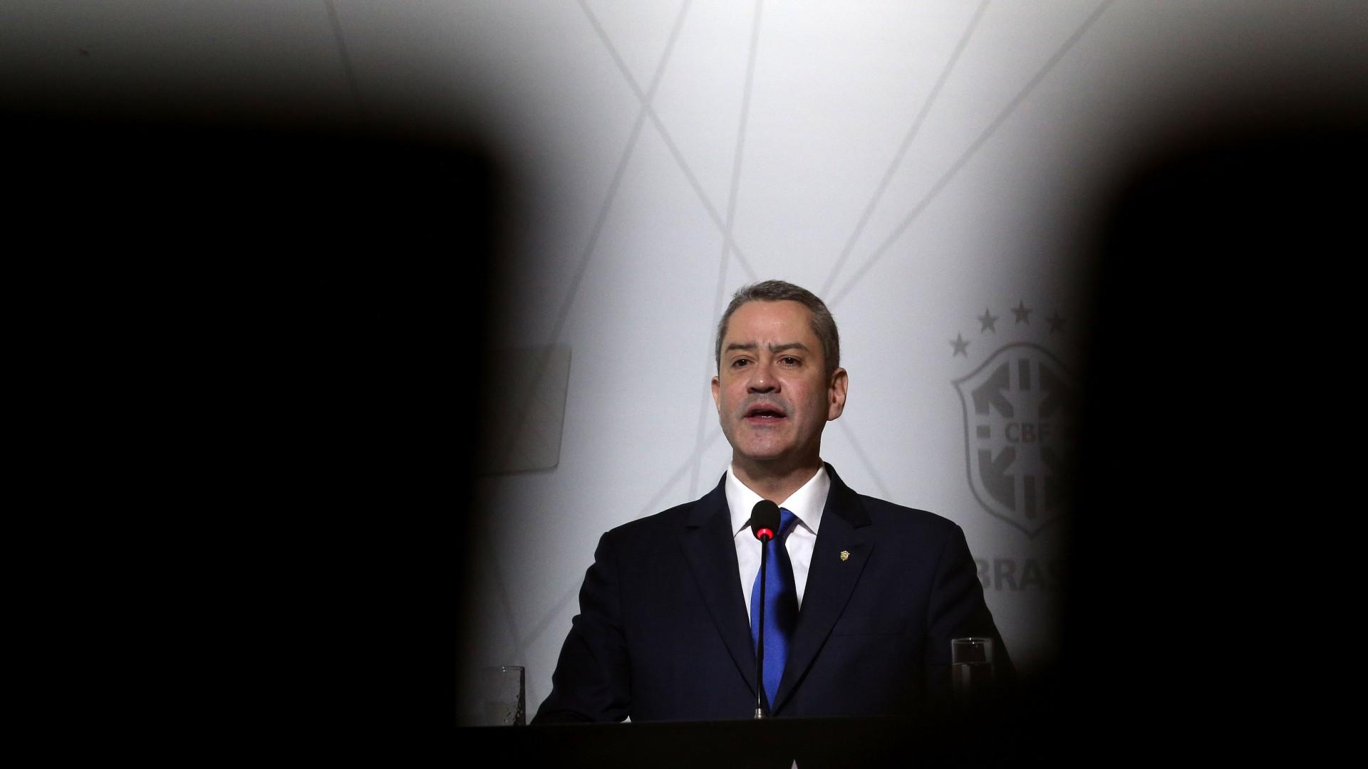Presidente da CBF, Rogério Caboclo