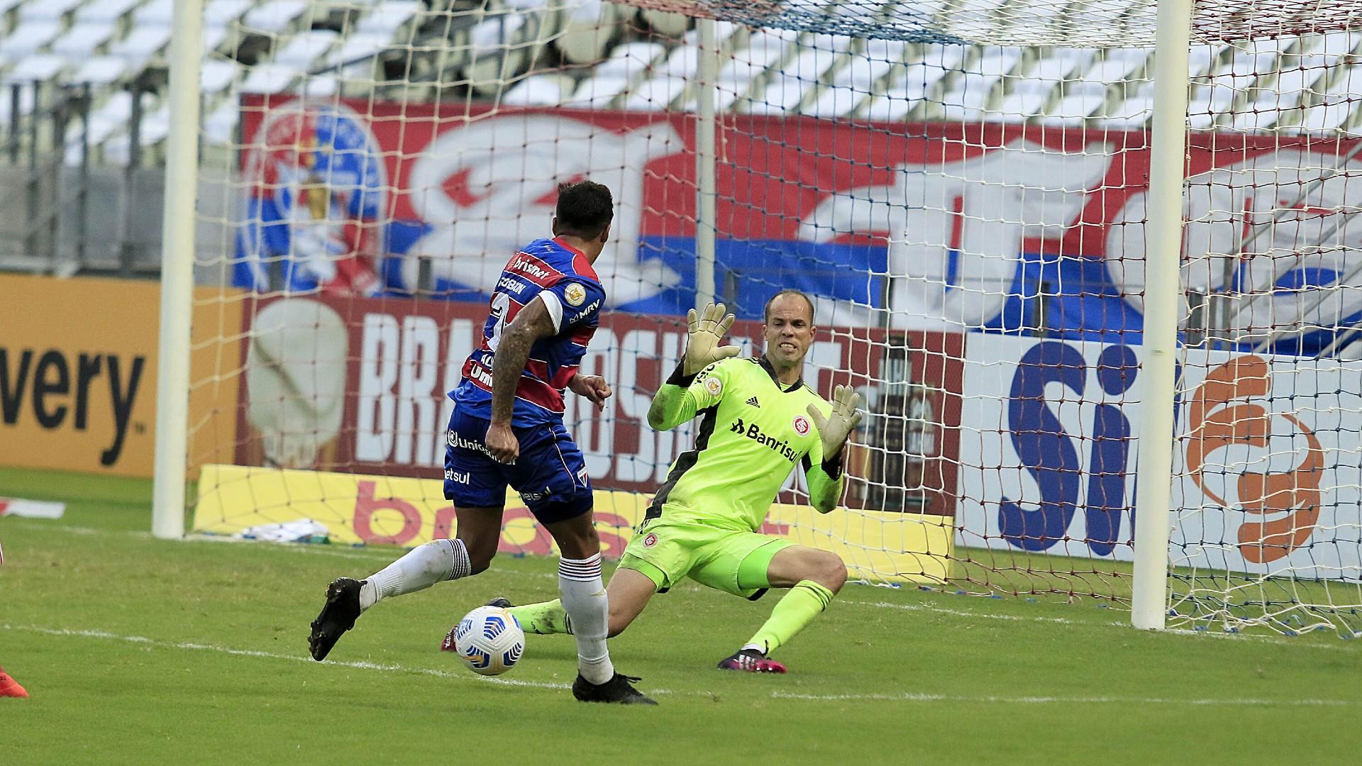 Leão conseguiu um resultado histórico contra o Internacional neste domingo