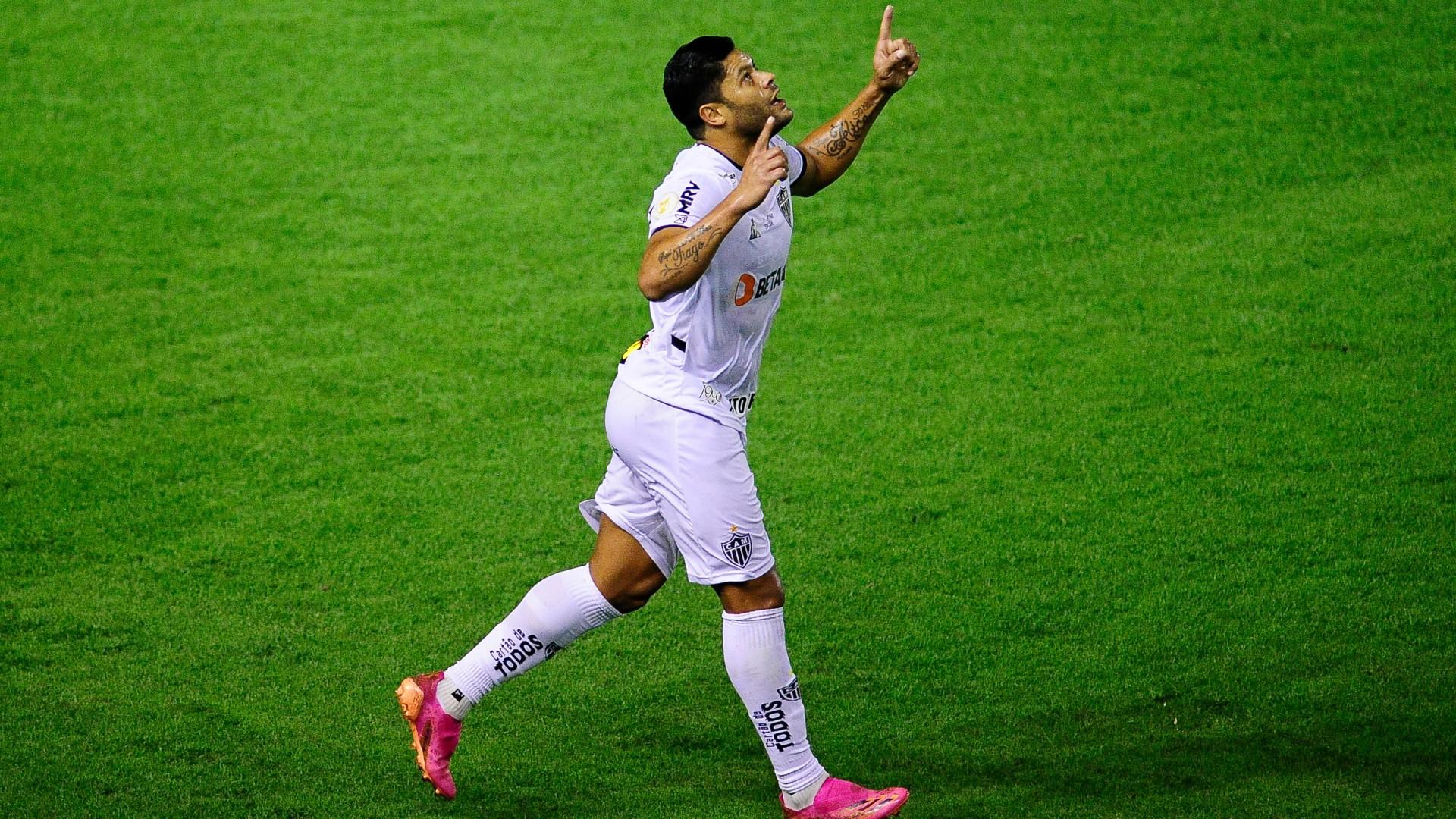 Hulk marcou o gol da vitória do Galo neste domingo (6)