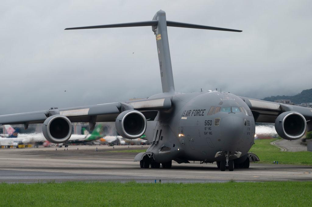 Avião militar dos EUA – U.S. Air Force C-17 Globemaster III