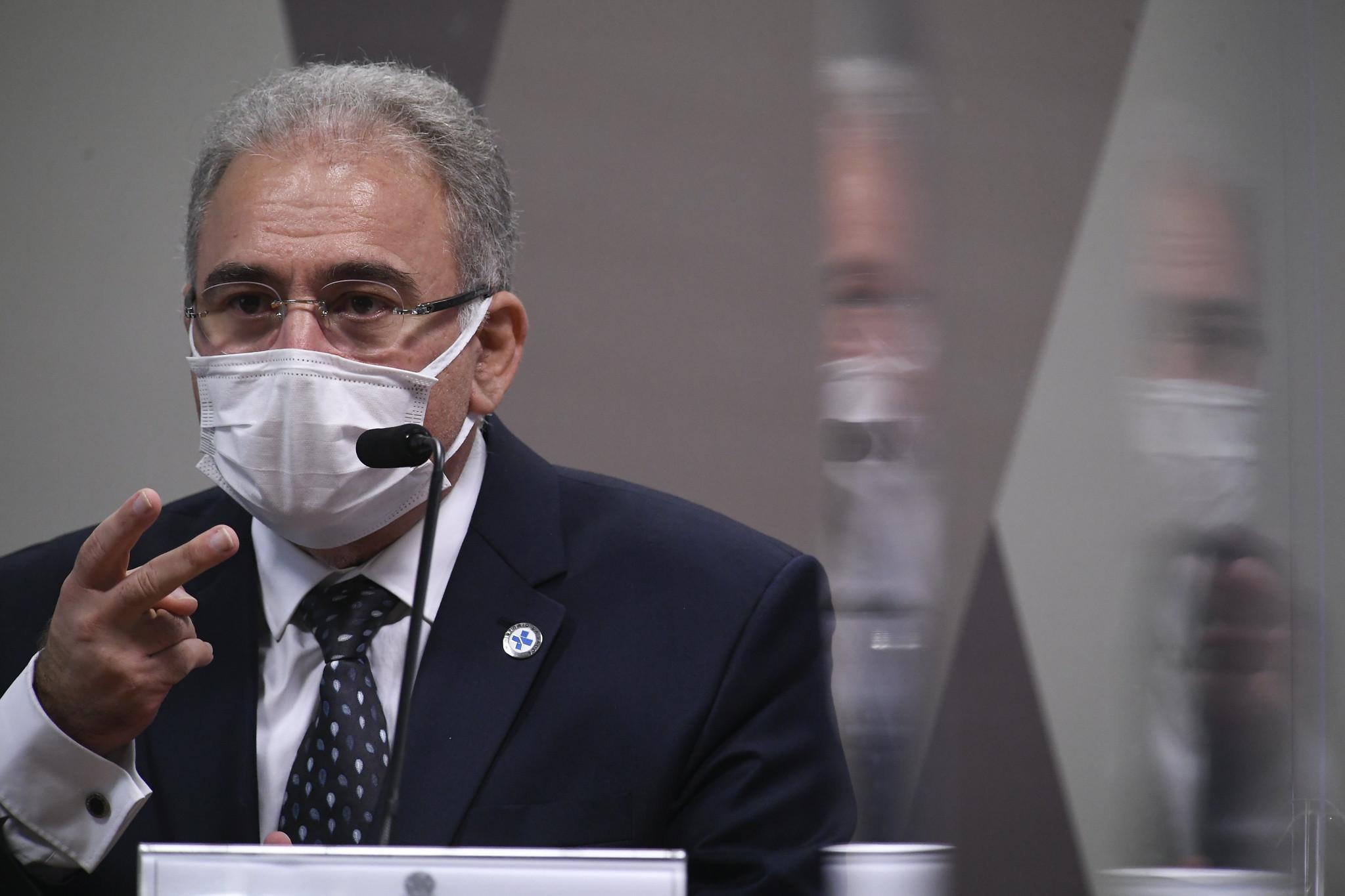 Marcelo Queiroga presta depoimento à CPI pela segunda vez