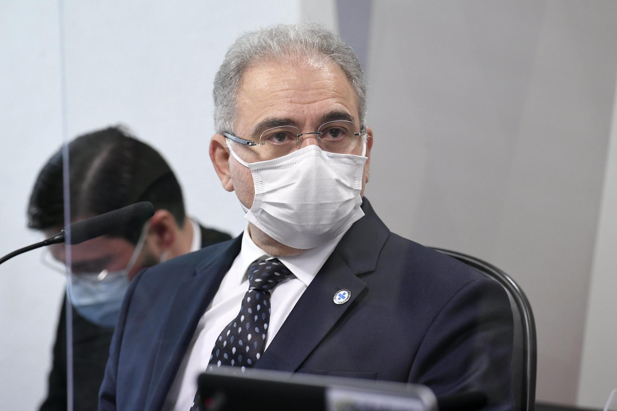 Ministro da Saúde, Marcelo Queiroga, presta novo depoimento à CPI da Pandemia