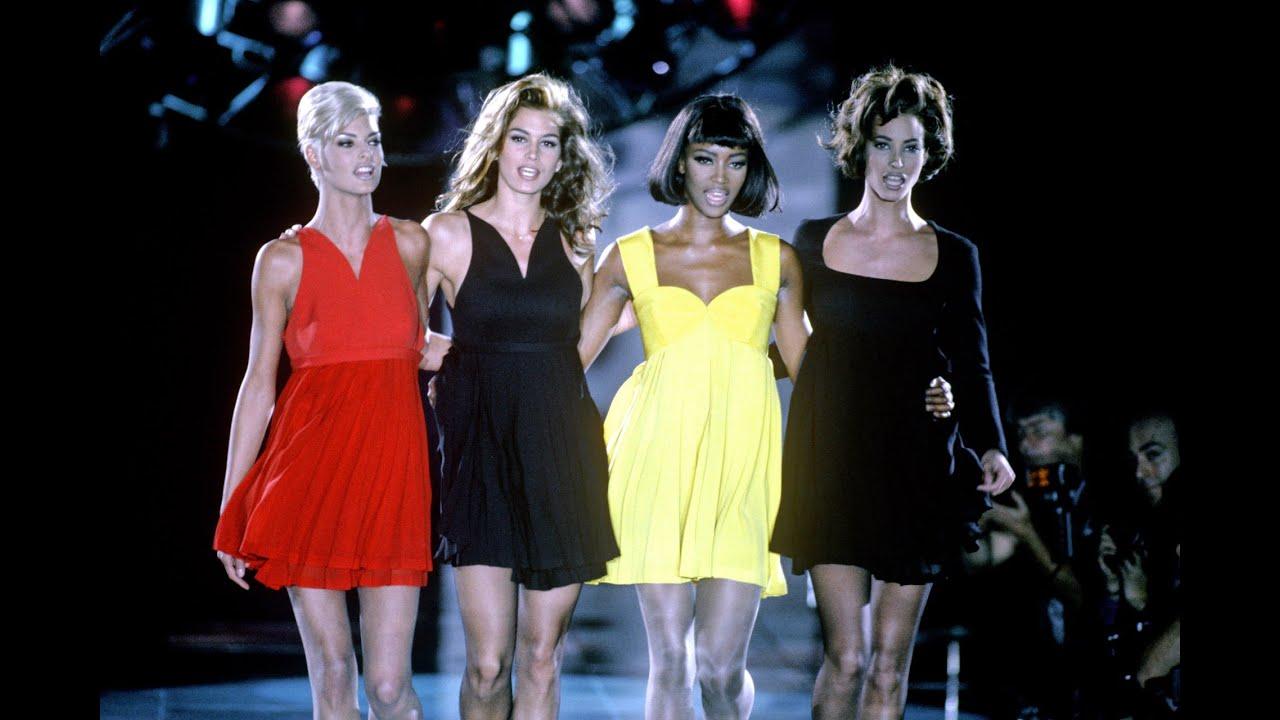 Desfile Freedom! 90 para Versace