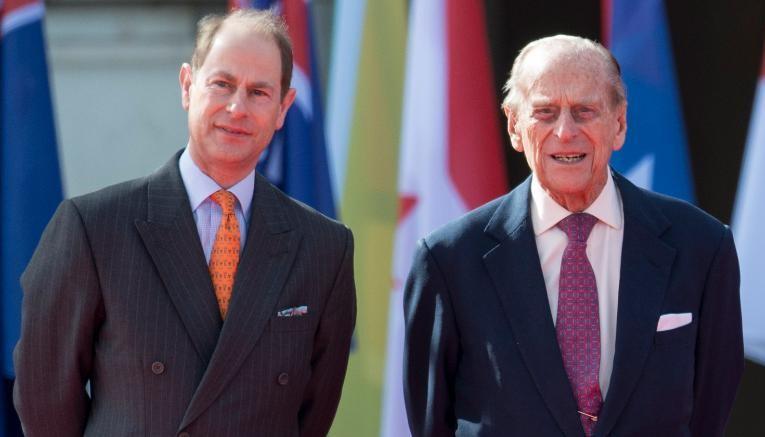 Príncipe Edward e Príncipe Philip