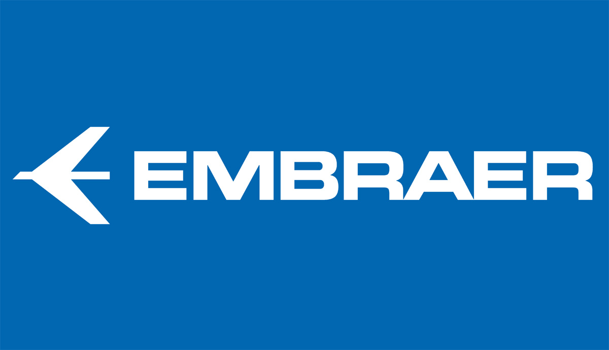 Logotipo da Embraer