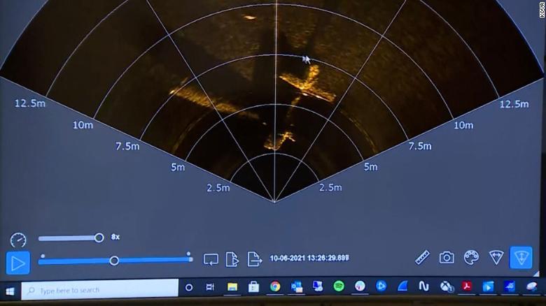 Avião sonar