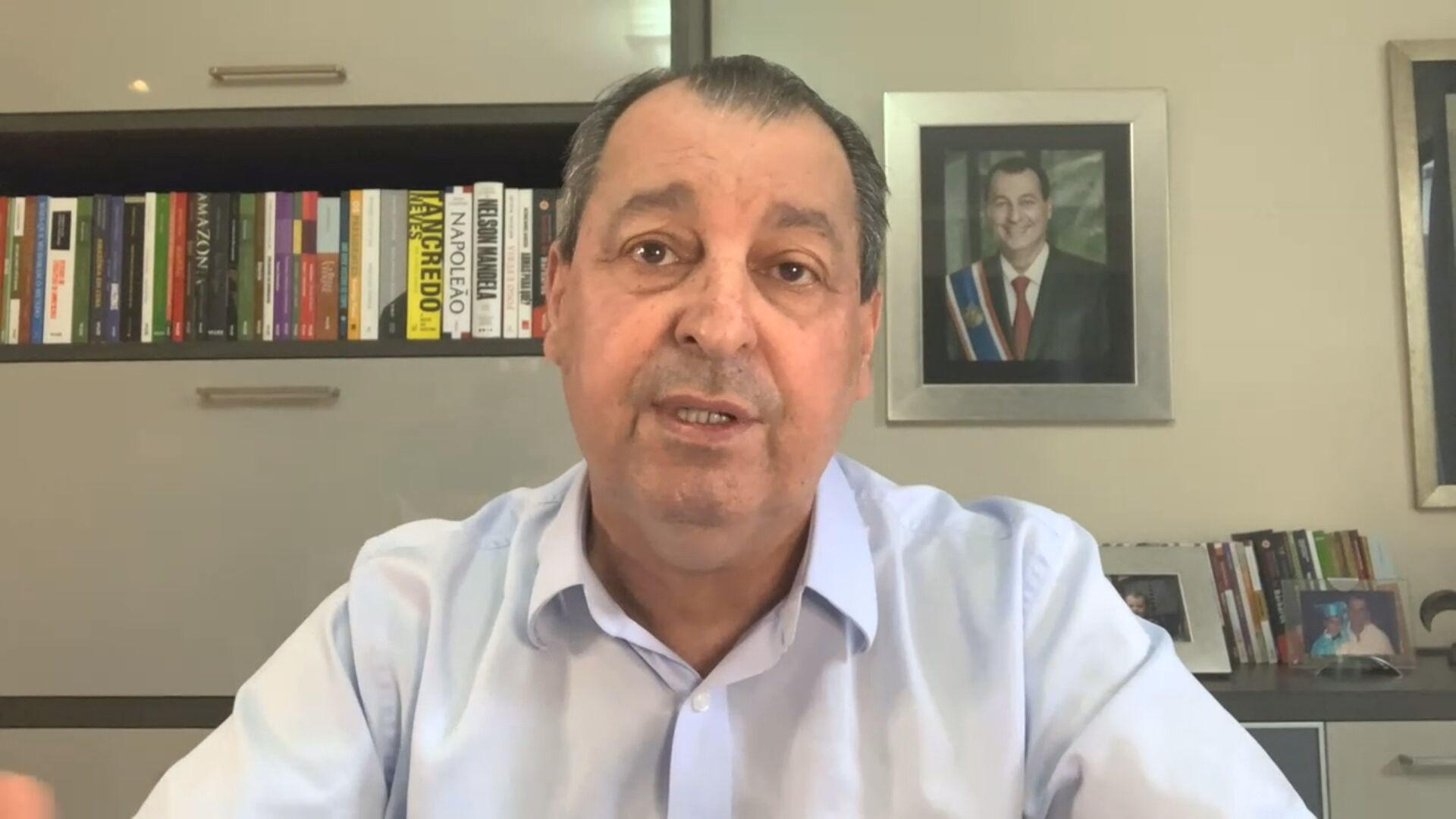 Senador Omar Aziz (PSD-AM), presidente da CPI da Pandemia