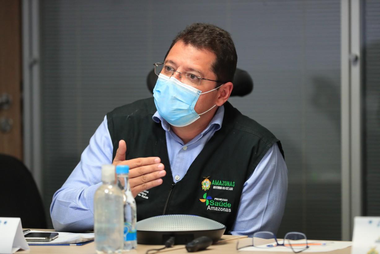 Ex-secretário de Saúde do AM, Marcellus Campêlo