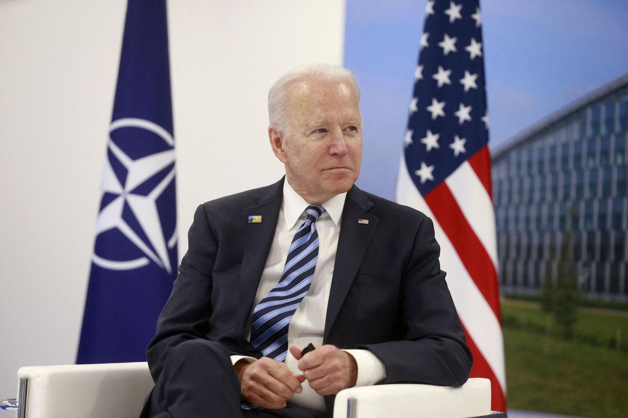 Biden discursa na Otan
