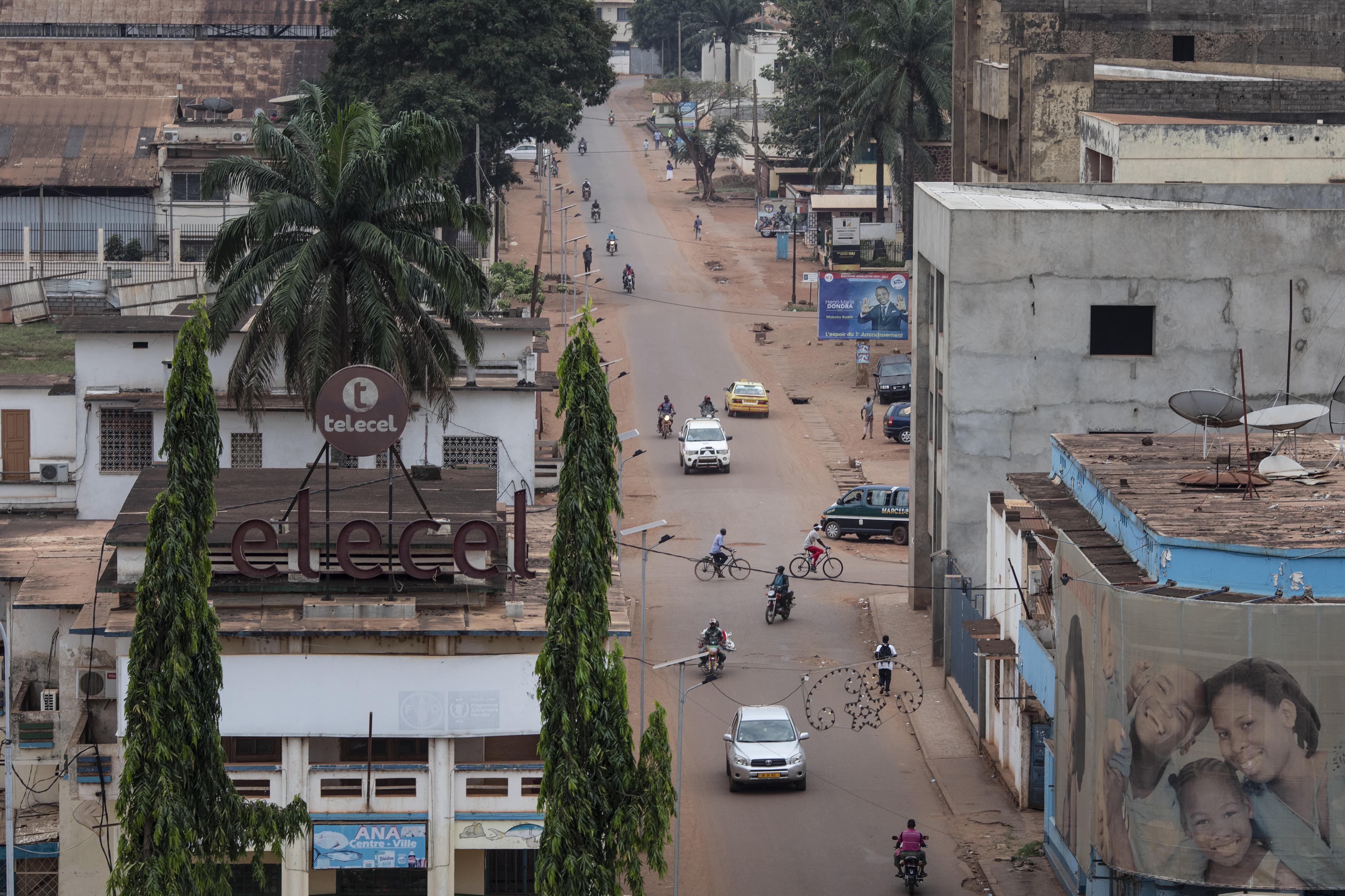 Bangui, capital da República Centro-Africana