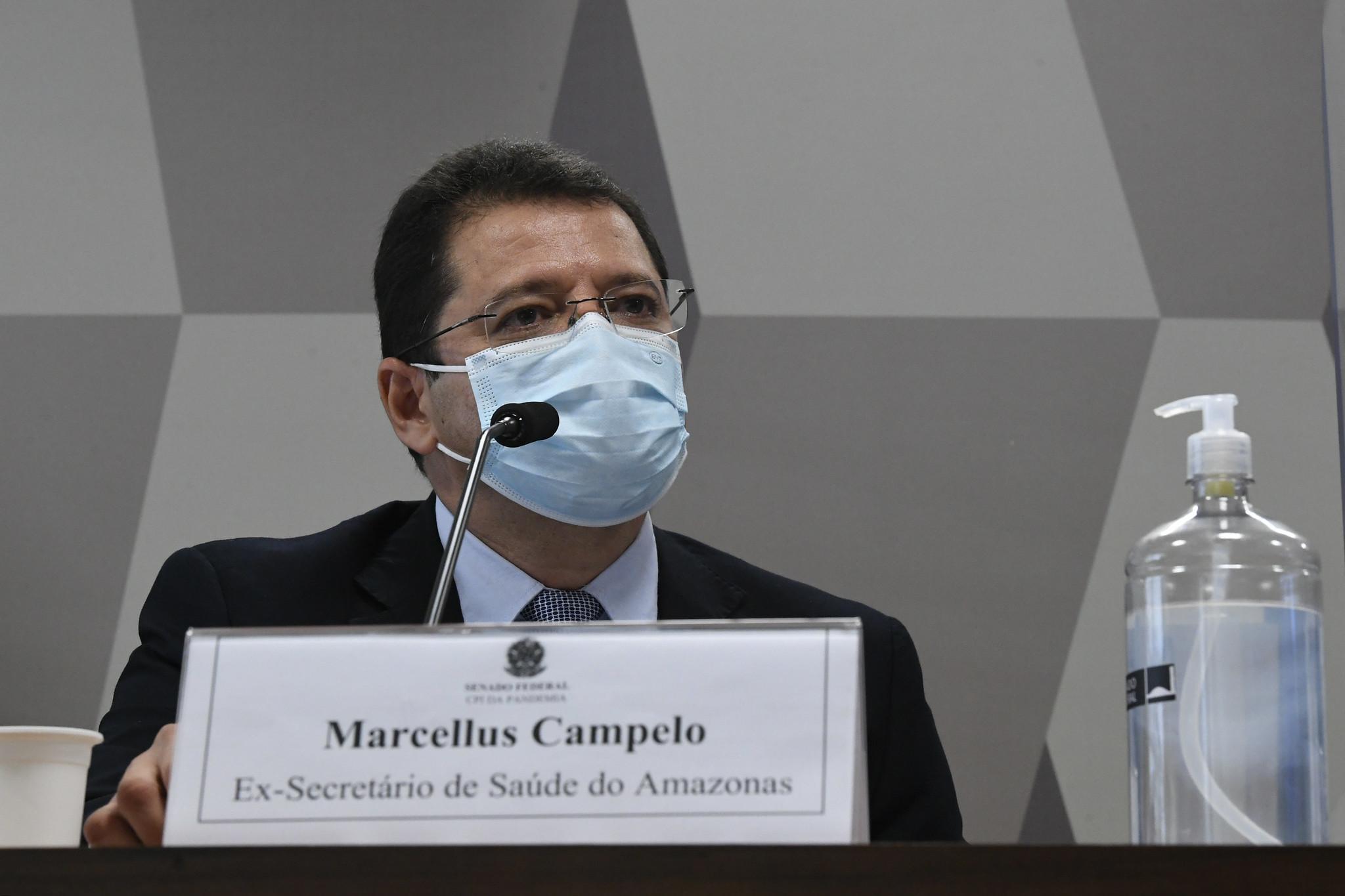 Depoimento de Marcellus Campêlo, ex-secretário de Saúde do Amazonas, para a CPI