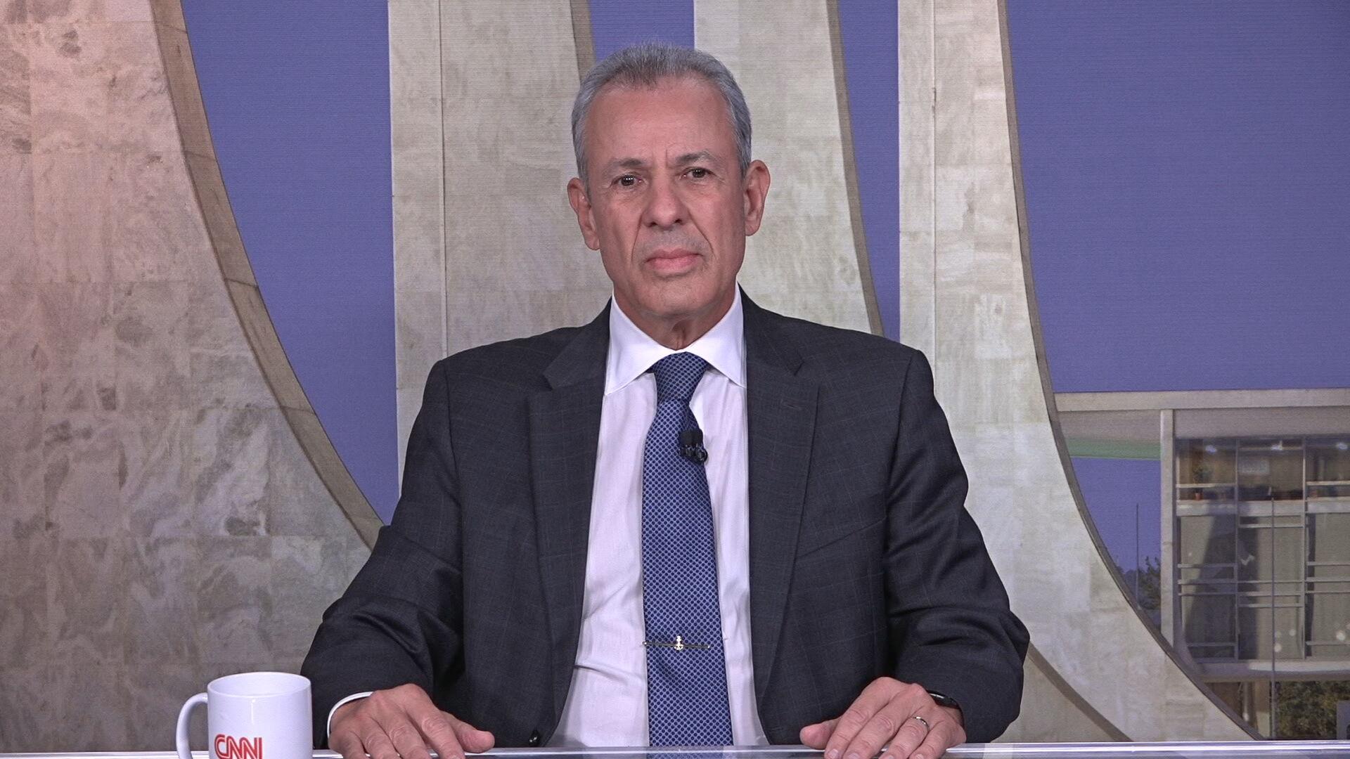 Ministro de Minas e Energia Bento Albuquerque em entrevista à CNN (16.jun.2021)