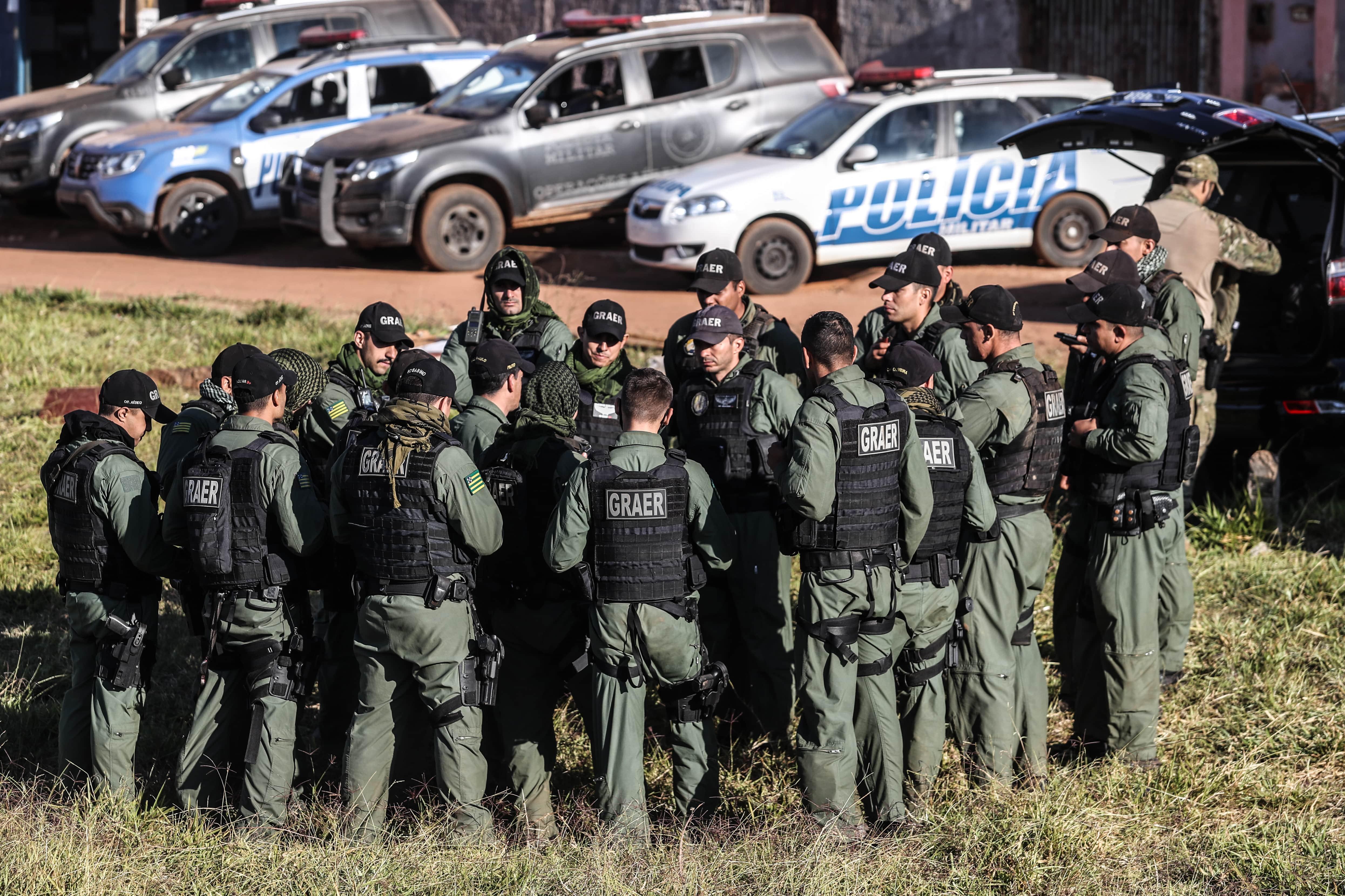 Policiais se mobilizam para capturar Lázaro Barbosa