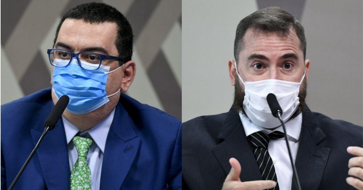Médicos Ricardo Ariel Zimerman e Francisco Eduardo Cardoso Alves