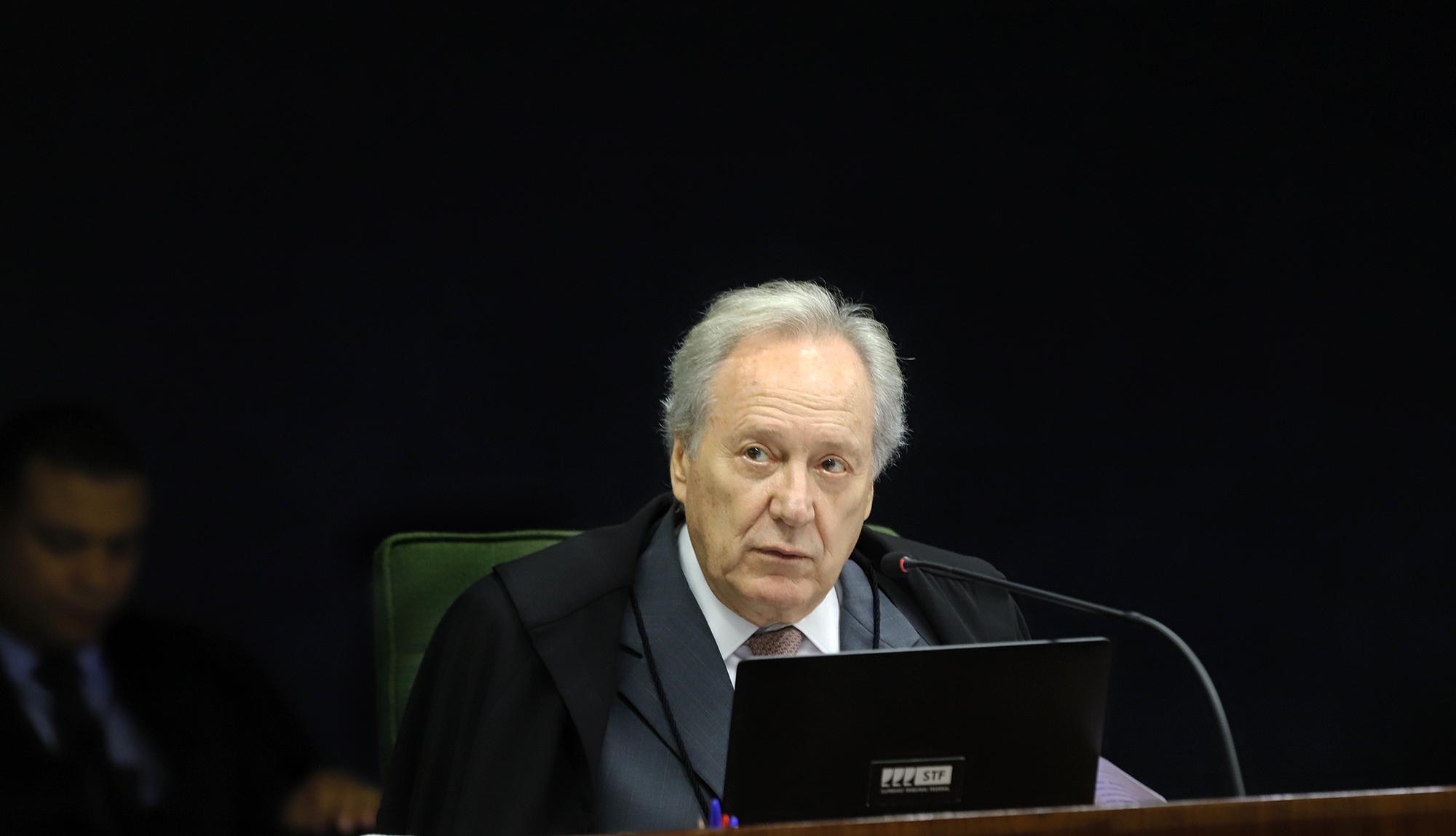 Ministro Ricardo Lewandowski, Supremo Tribunal Federal.