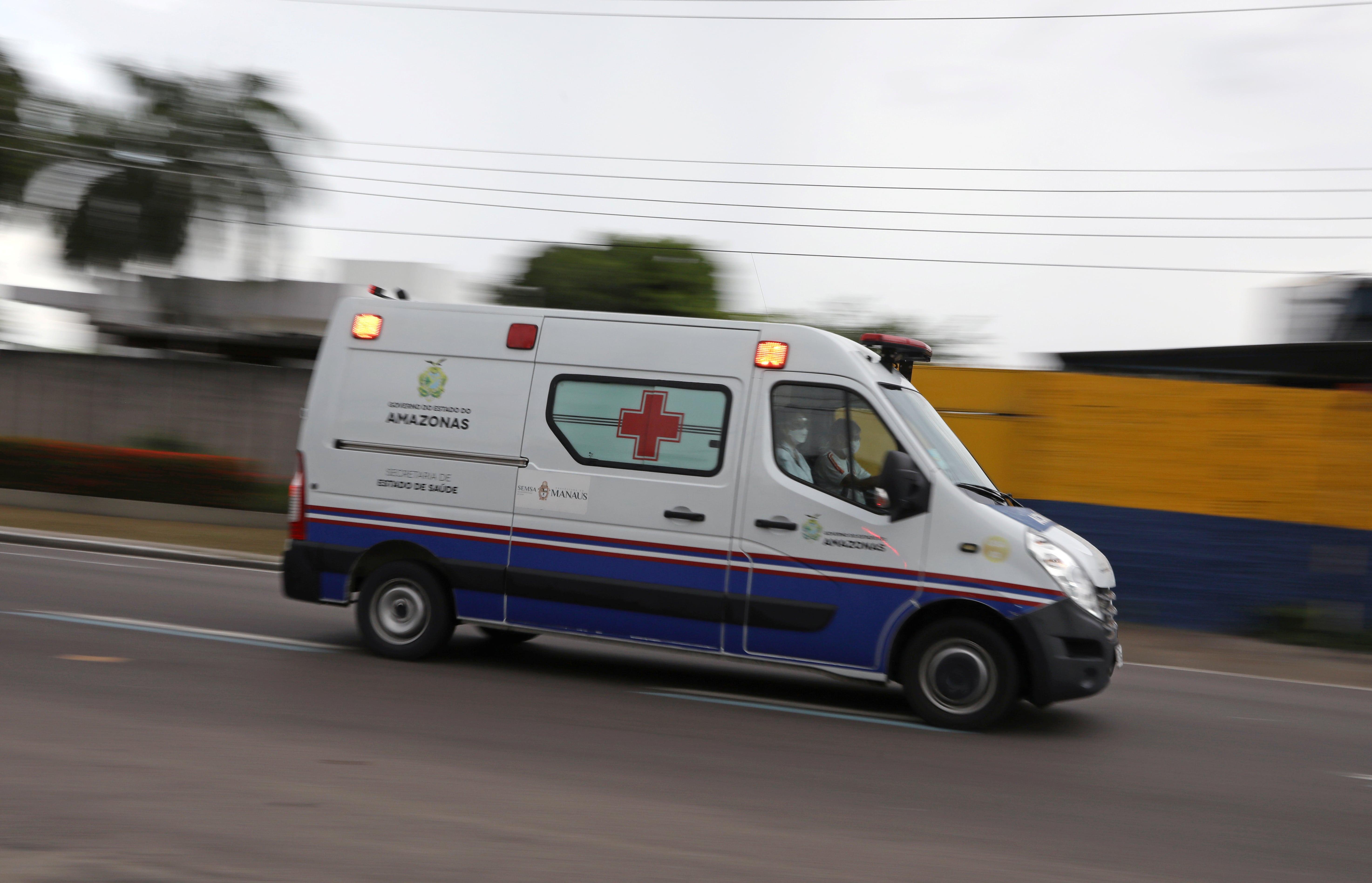 Ambulância, UTI, Covid-19