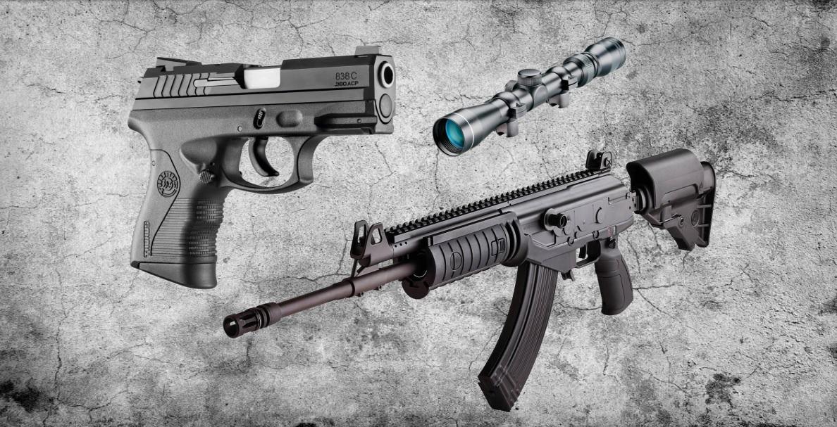 Armas de controle do Exército Brasileiro