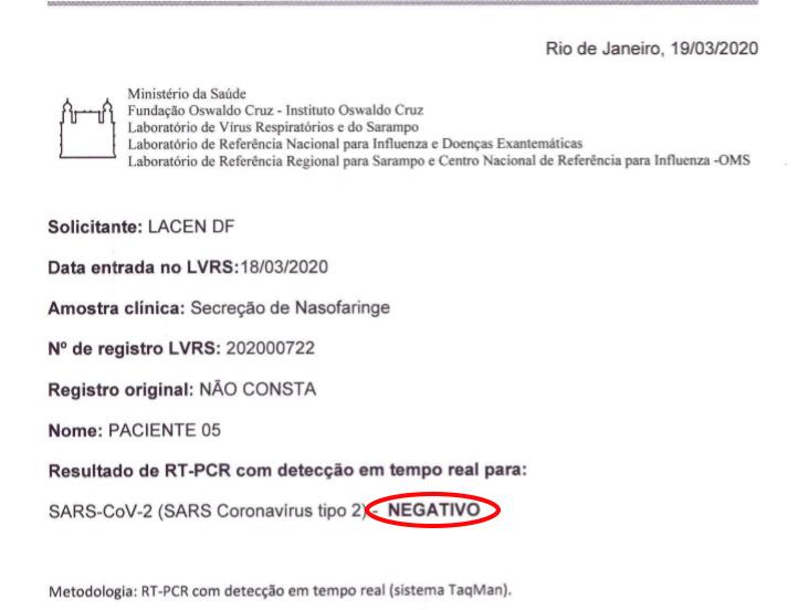 Jair Bolsonaro, Coronavírus