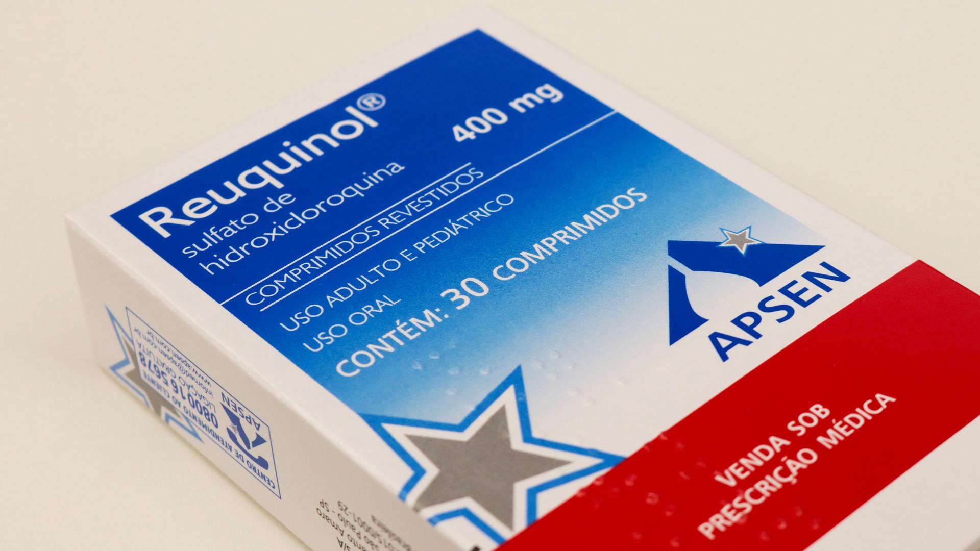 Sulfato de Hidroxicloroquina.