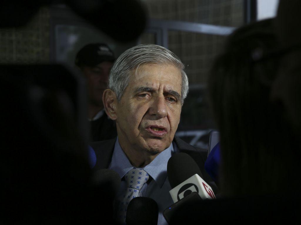 O ministro do Gabinete de Segurança Institucional, general Augusto Heleno