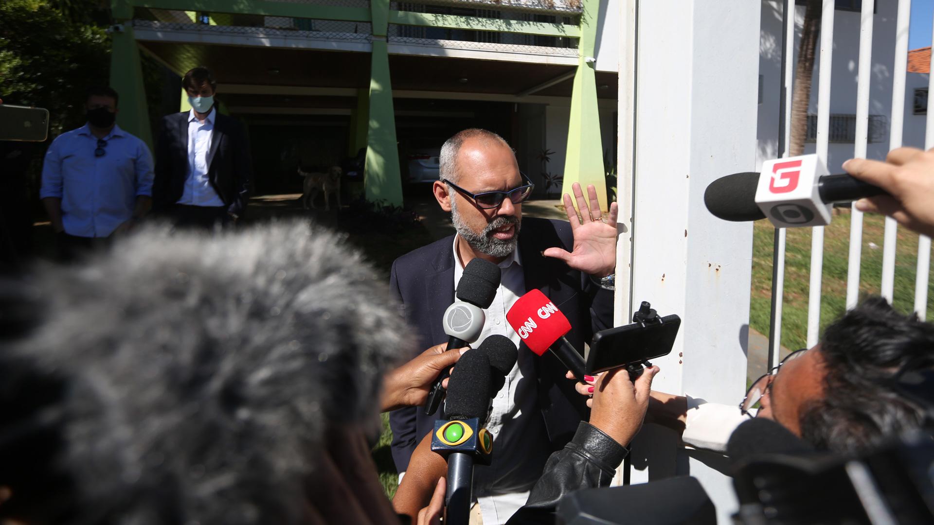 Allan dos Santos, jornalista responsável pelo site bolsonarista Terça Livre.