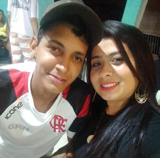 O casal Antônio Carlos Bruno da Silva e Daiane Galvão