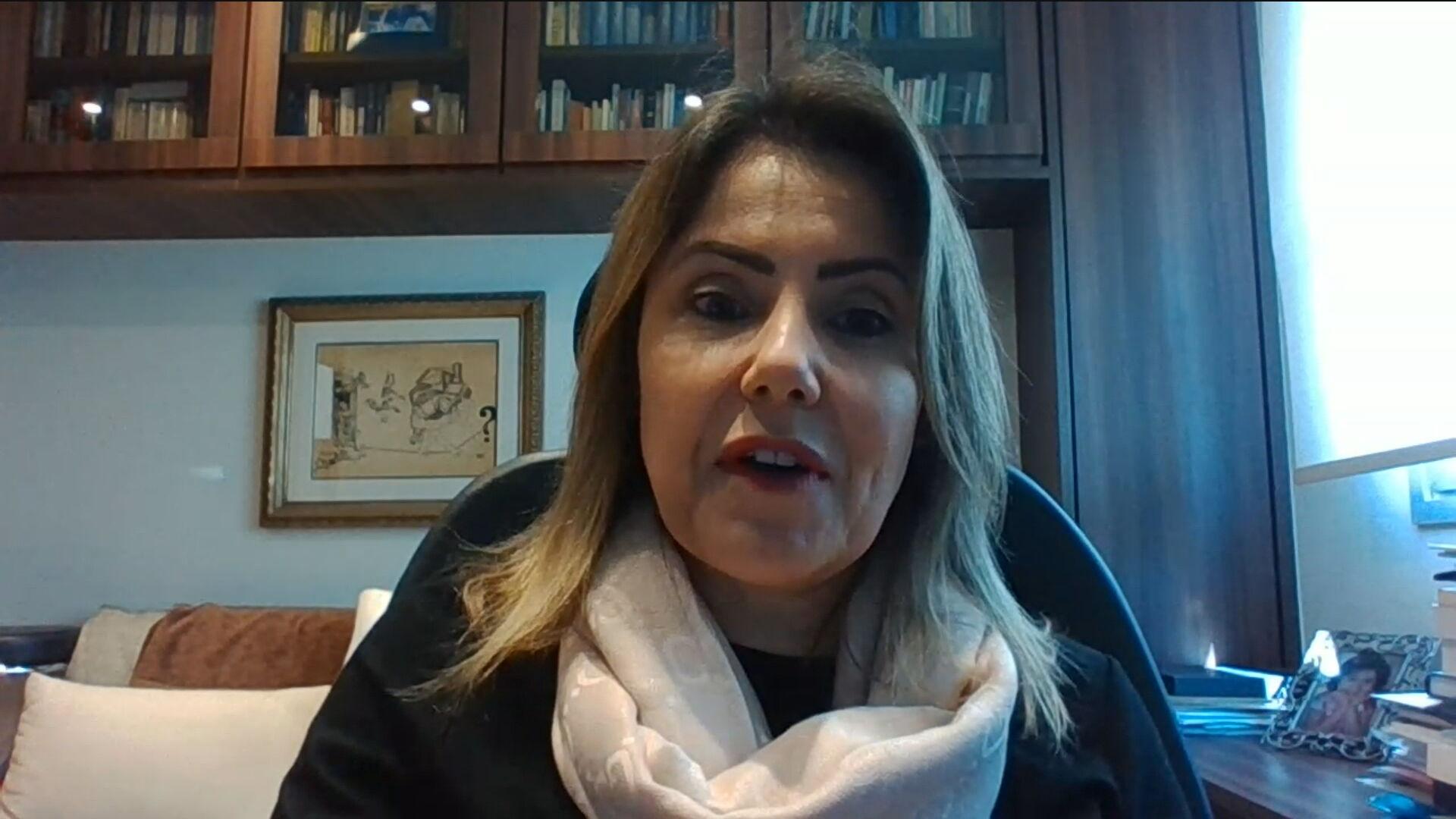 Daniela Manique, Presidente do Grupo Solvay na América Latina em entrevista par