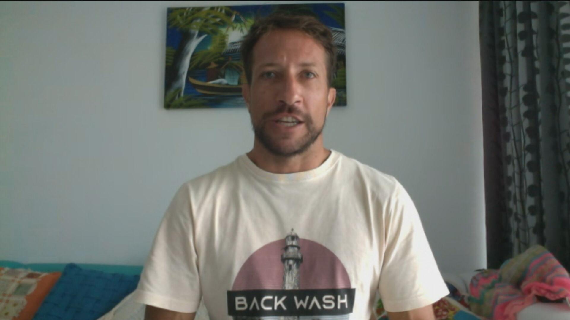 Serginho Laus, recordista mundial de surf na Pororoca e embaixador do grupo Unid