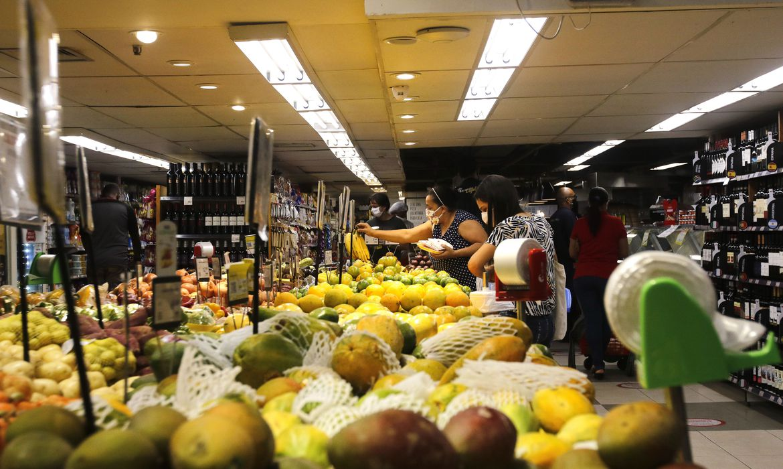 supermercado; alimentos