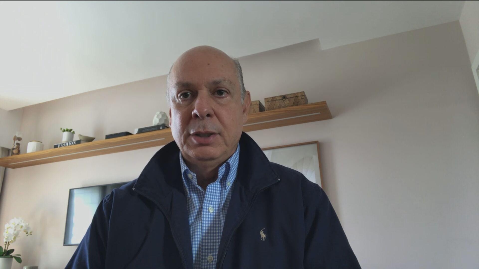 César Teixeira, CEO de Consumo e Pequenas e Médias empresas da Claro em entrevis