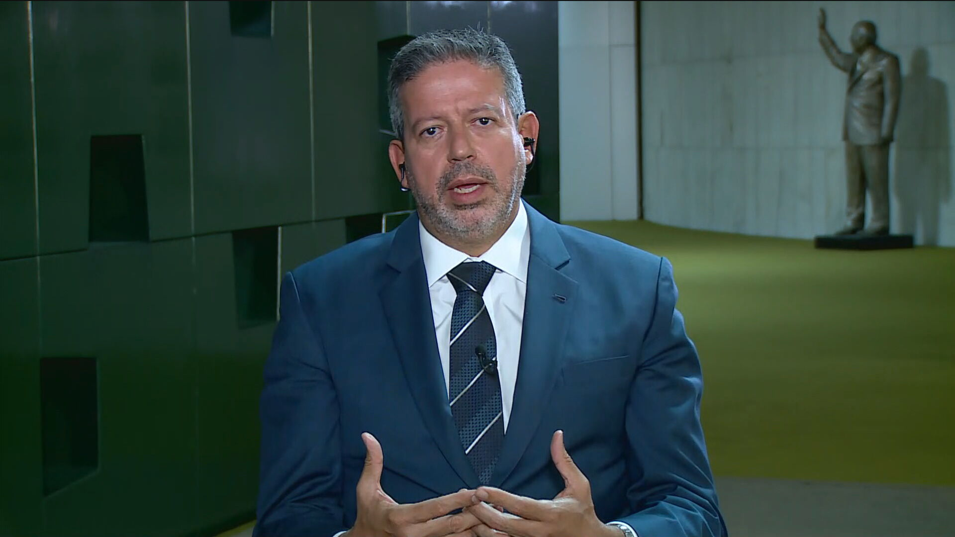 Arthur Lira, deputado federal pelo Progressista de Alagoas em entrevista para a