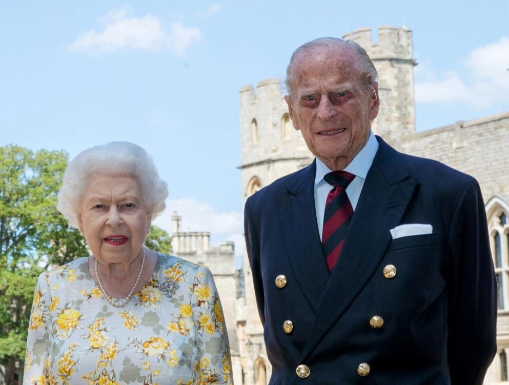 Rainha Elizabeth II e o príncipe Philip, duque de Edimburgo
