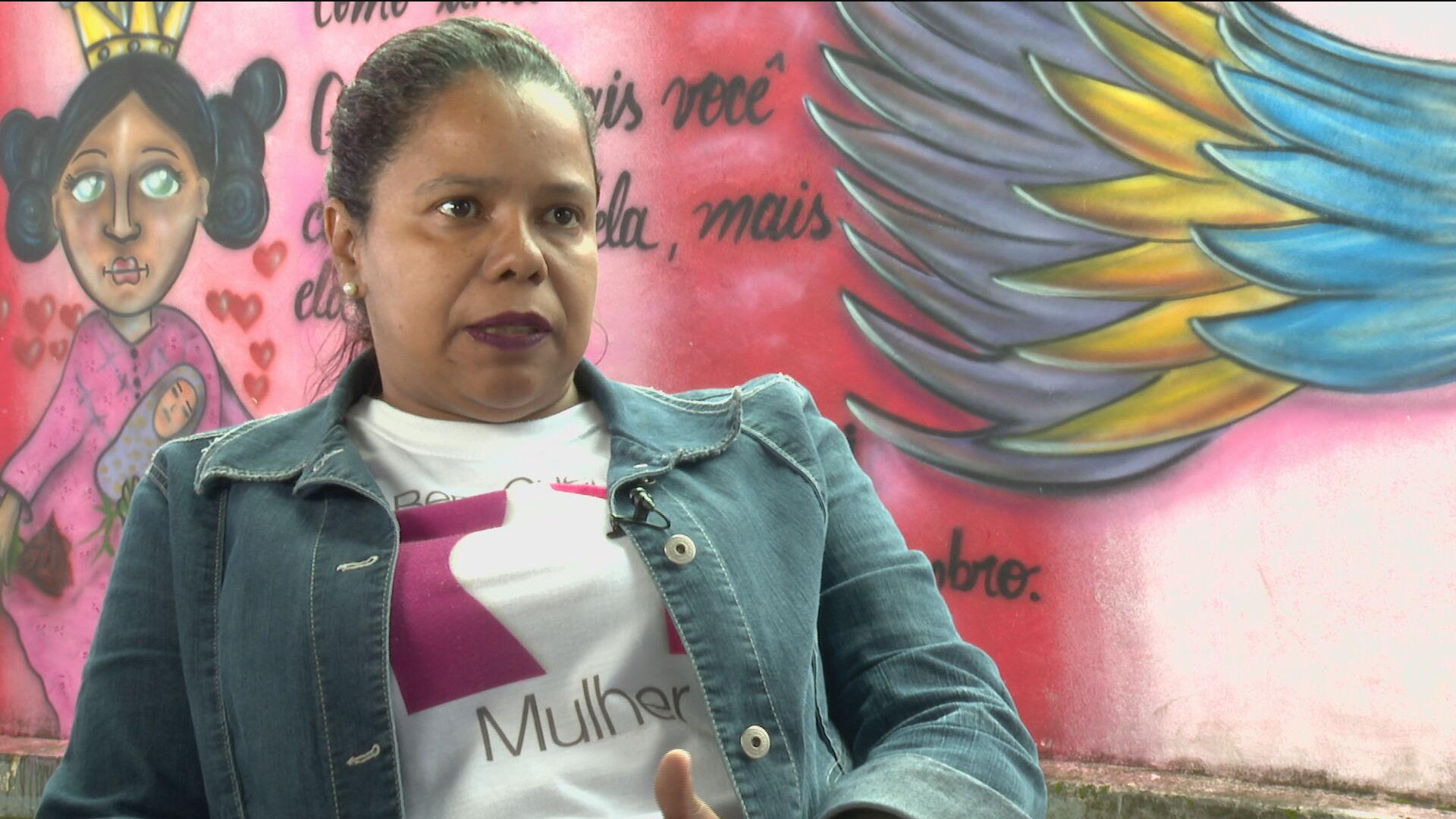 Josiane, que encabeça projeto contra violência doméstica na periferia, fala à CN