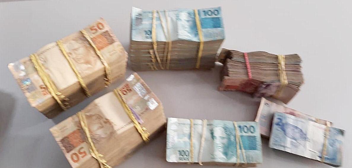 Apreensão de R$ 100 mil pela PF do RJ em operação da Lava Jato