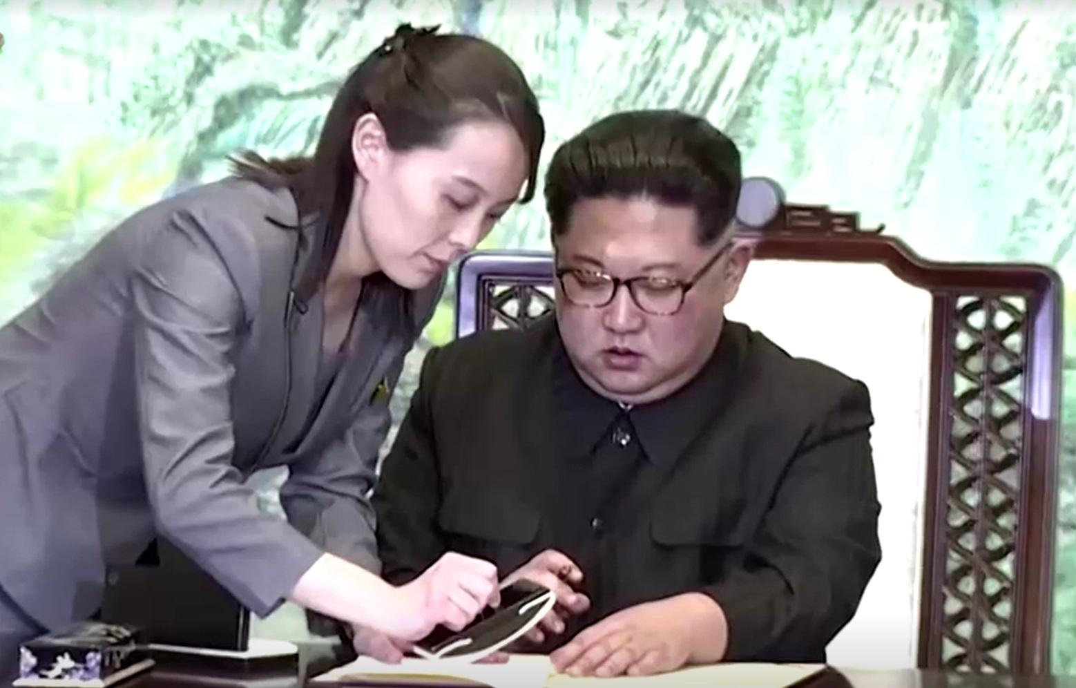 Coreia do Norte, Kim Yo-jong, Kim Jong-un