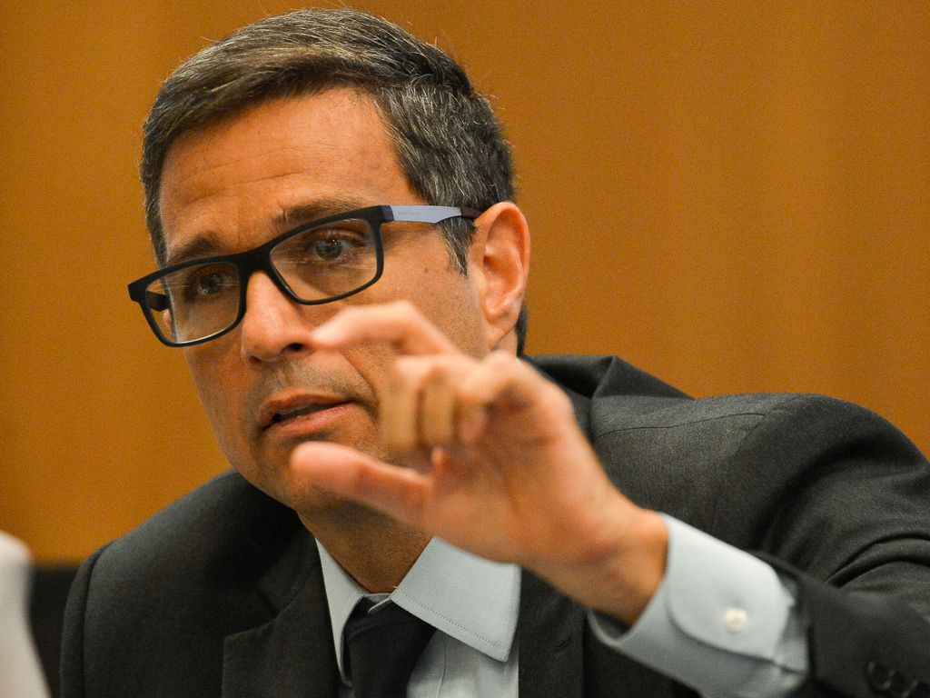 Presidente do Banco Central, Roberto Campos Neto em entrevista coletiva