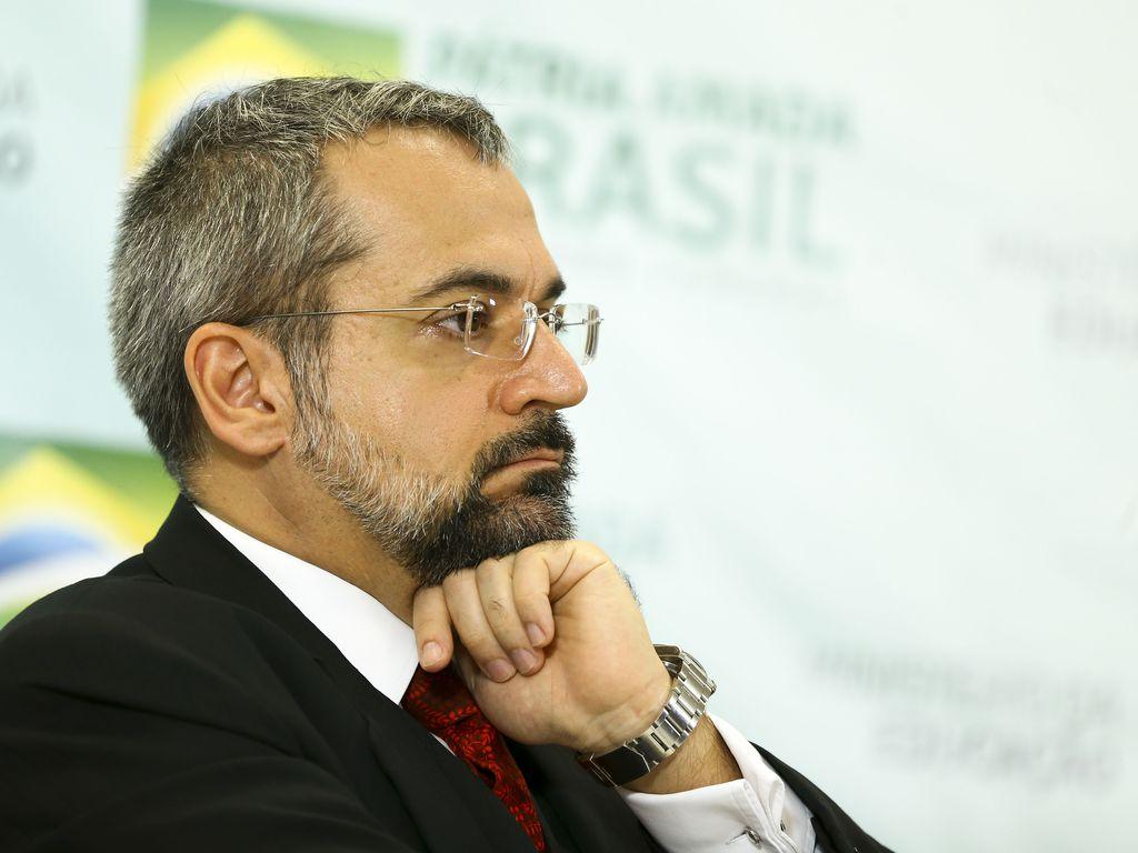 O ex-ministro Abraham Weintraub