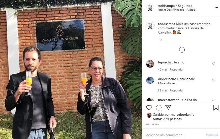 Heloísa de Carvalho e Bruno Maia