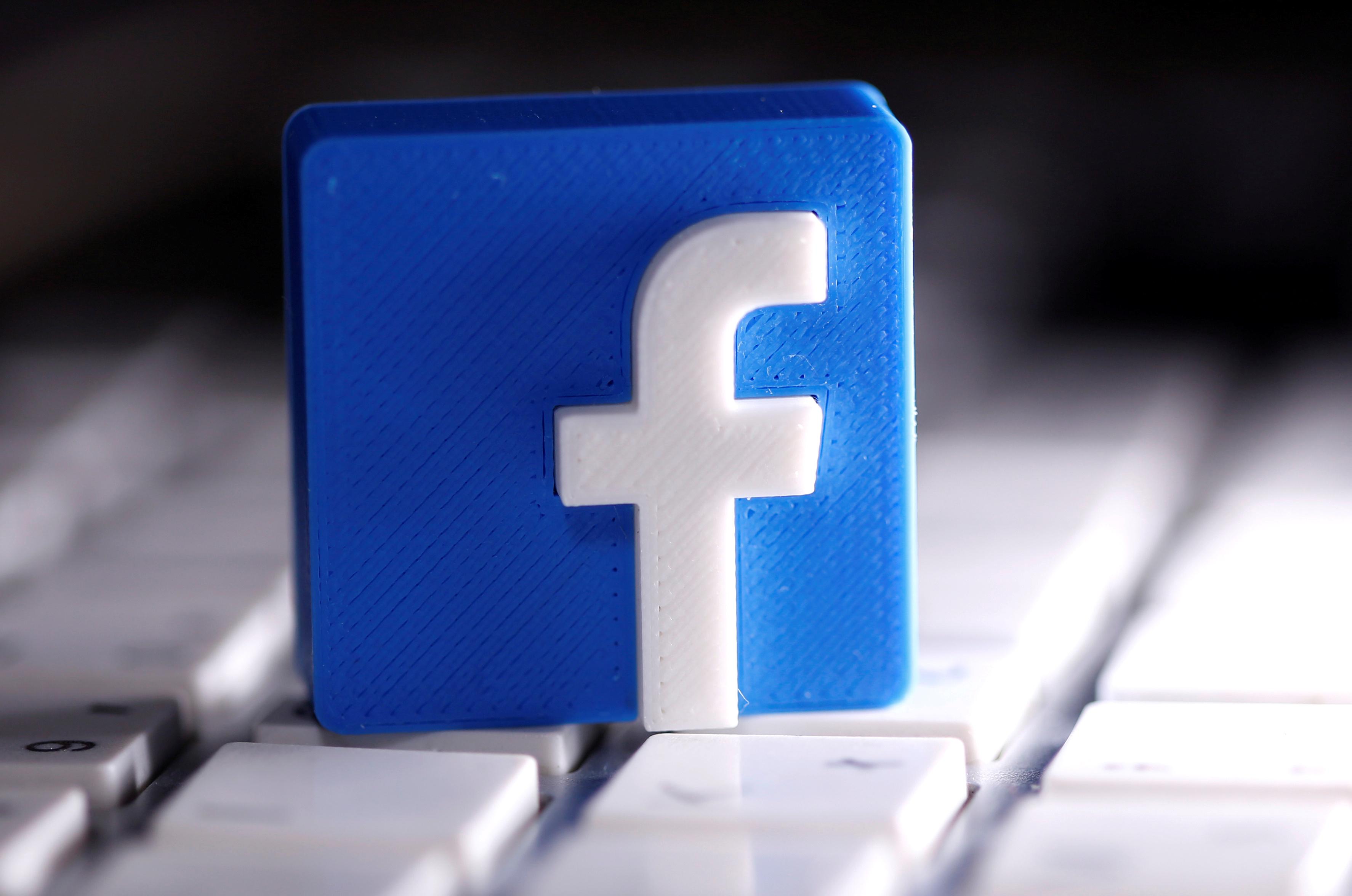Símbolo do Facebook