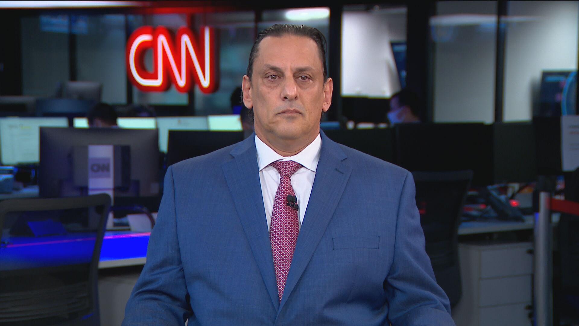 Advogado Frederick Wassef em entrevista exclusiva à CNN no domingo (21)