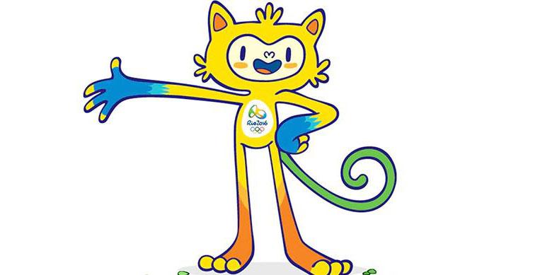 Mascote da Olimpíada Rio 2016