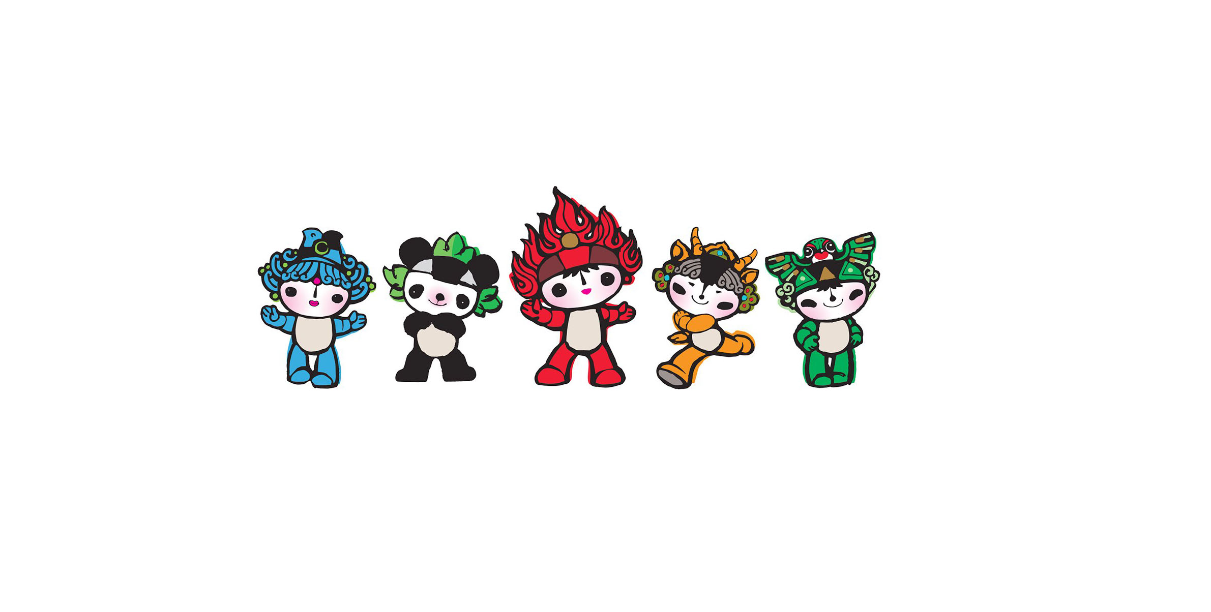 Mascote da Olimpíada de Pequim 2008