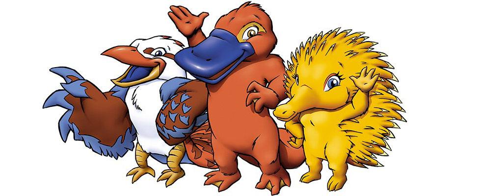 Mascotes da Olimpíada de Sydney 2000